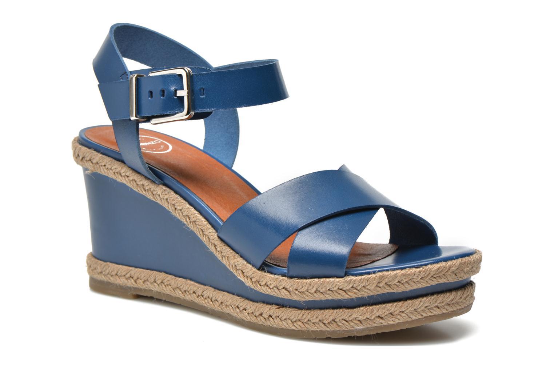 Sandales et nu-pieds Made by SARENZA Menthe Hello #20 Bleu vue face