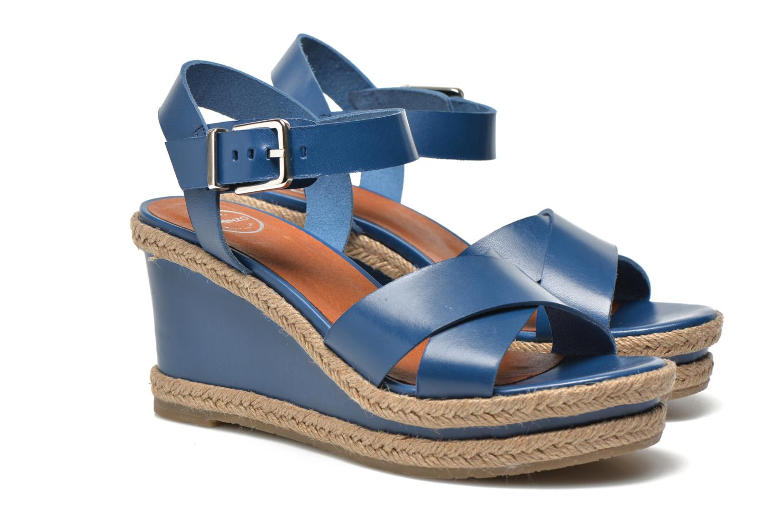 Sandales et nu-pieds Made by SARENZA Menthe Hello #20 Bleu vue droite