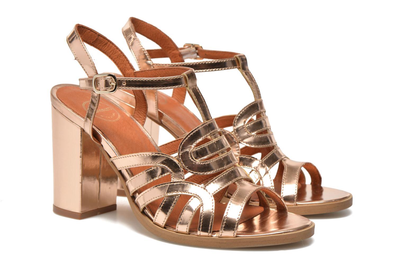 Sandales et nu-pieds Made by SARENZA Square Simone#1 Or et bronze vue droite