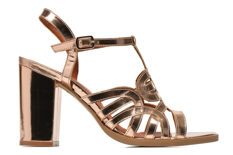 Sandalias Made by SARENZA Square Simone#1 Oro y bronce vista de detalle / par