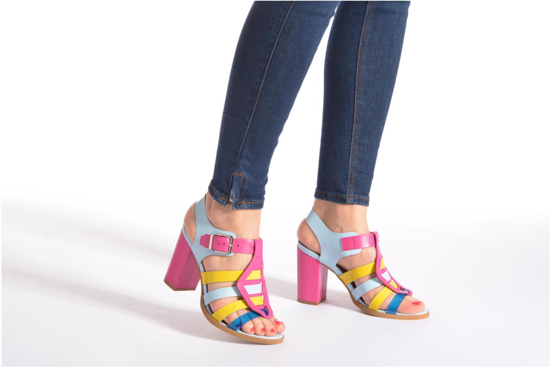 Sandalias Made by SARENZA Menthe Hello #16 Multicolor vista de abajo