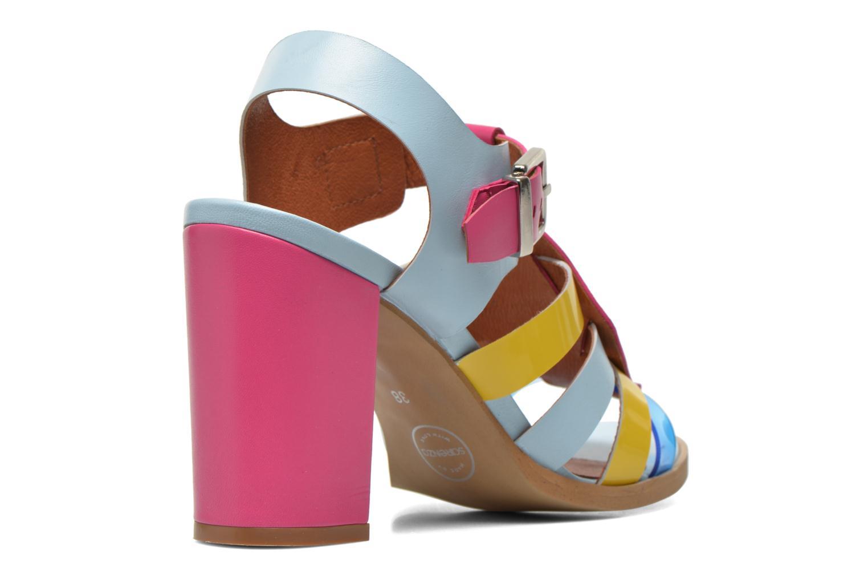 Sandalias Made by SARENZA Menthe Hello #16 Multicolor vista del modelo