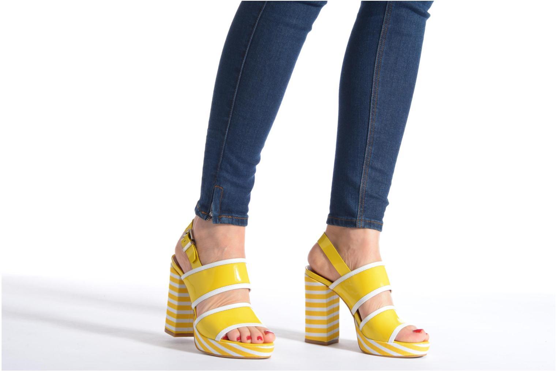 Sandalias Made by SARENZA Menthe Hello #17 Amarillo vista de abajo