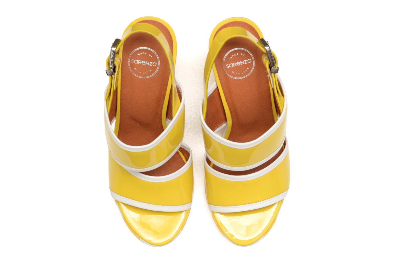 Sandalias Made by SARENZA Menthe Hello #17 Amarillo vista del modelo
