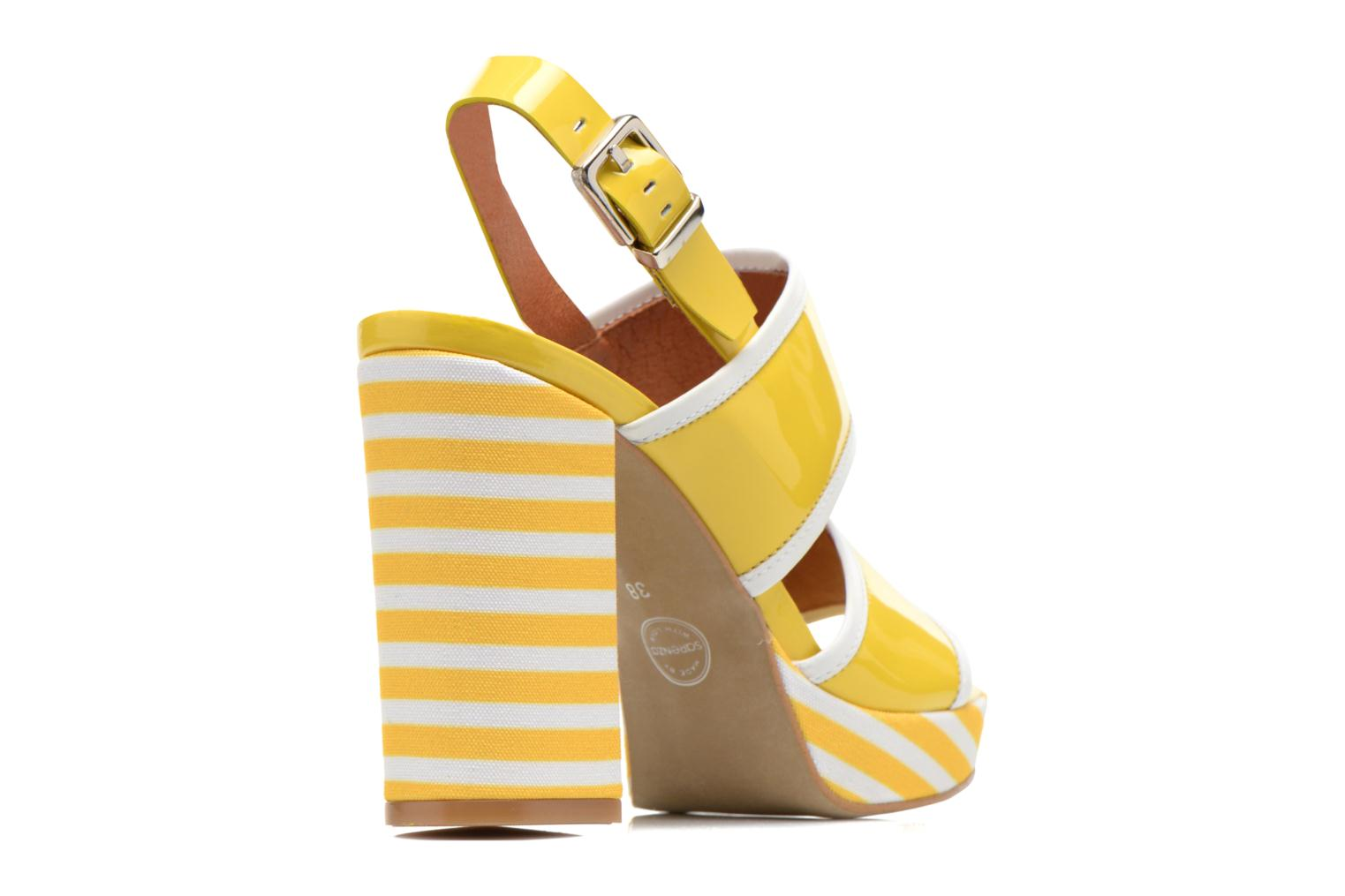 Sandals Made by SARENZA Menthe Hello #17 Yellow front view