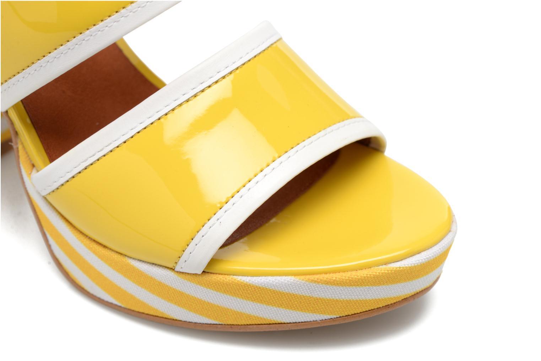 Sandalias Made by SARENZA Menthe Hello #17 Amarillo vista lateral izquierda