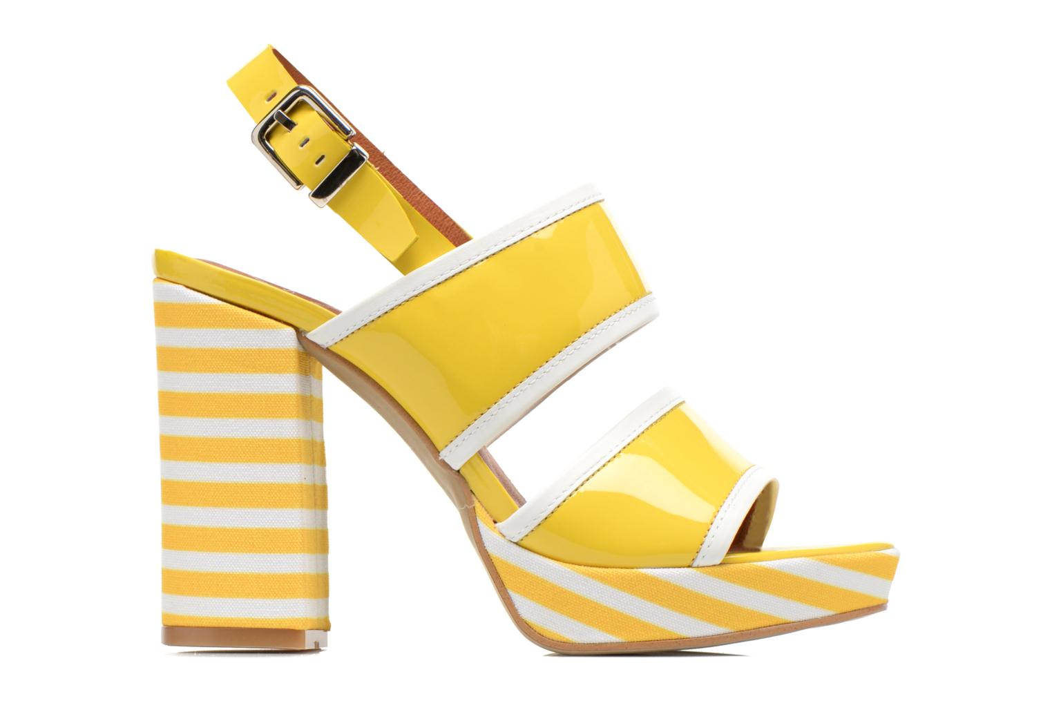 Sandals Made by SARENZA Menthe Hello #17 Yellow detailed view/ Pair view