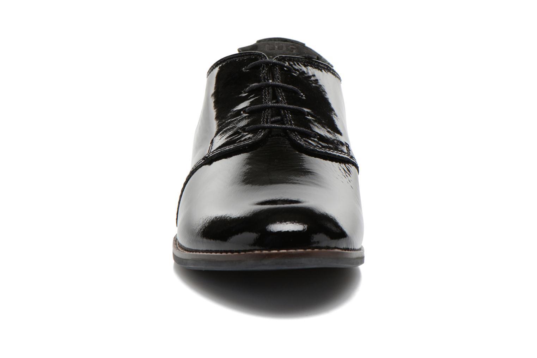 Schnürschuhe TBS Merloz schwarz schuhe getragen