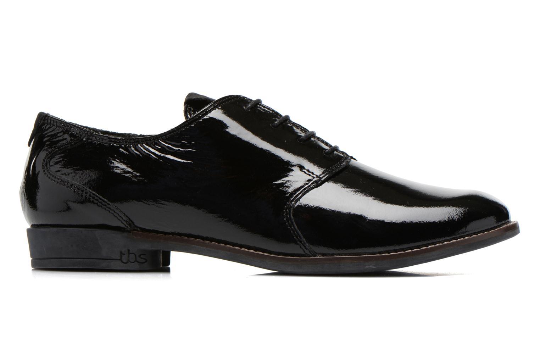 Chaussures à lacets TBS Merloz Noir vue derrière