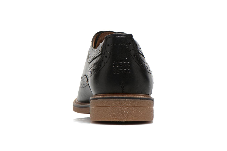 Chaussures à lacets TBS Bilice Noir vue droite