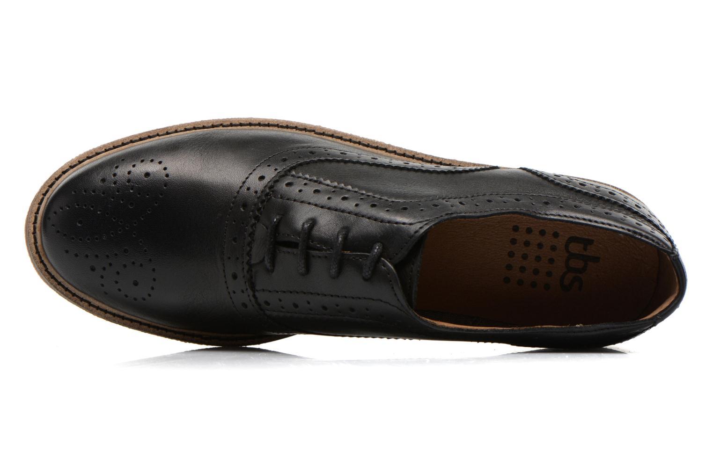 Chaussures à lacets TBS Bilice Noir vue gauche