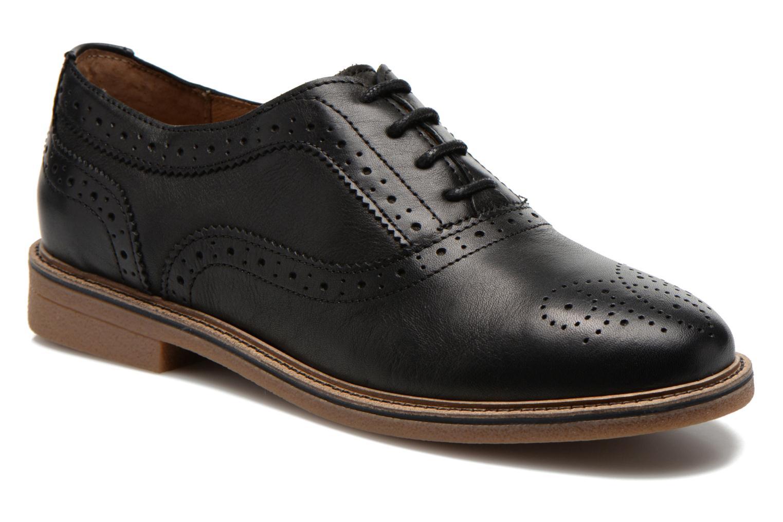 Chaussures à lacets TBS Bilice Noir vue détail/paire