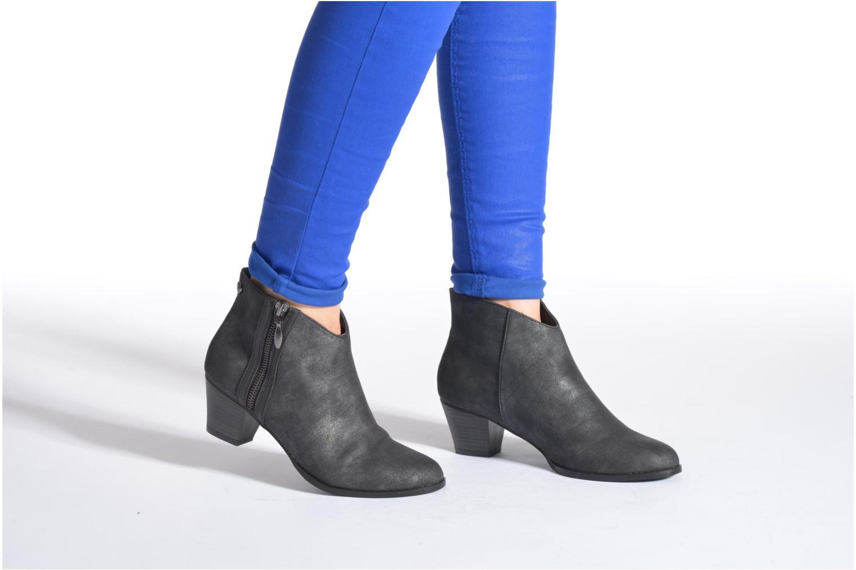 Bottines et boots Initiale Paris Curieux Gris vue bas / vue portée sac