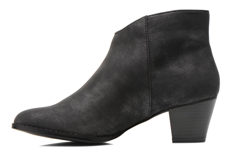 Bottines et boots Initiale Paris Curieux Gris vue face