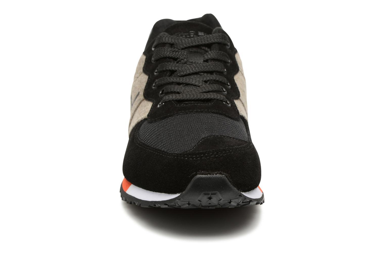 Baskets Polo Ralph Lauren Slaton RL Noir vue portées chaussures