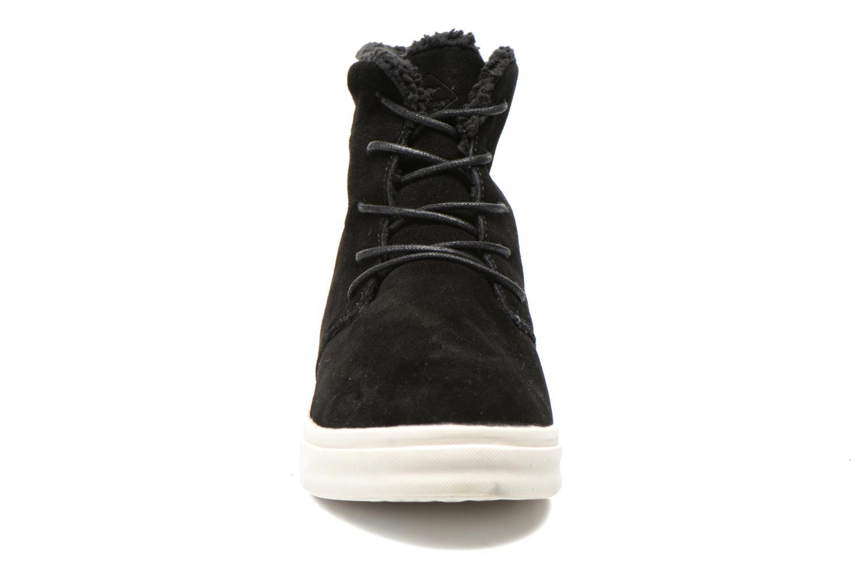 Baskets Roadsign Figuier Noir vue portées chaussures