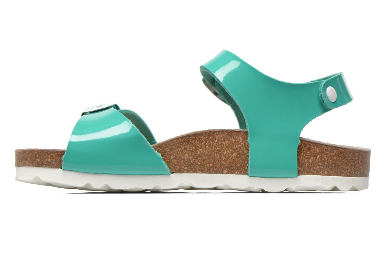 Sandales et nu-pieds Les Tropéziennes par M Belarbi Prune Vert vue face