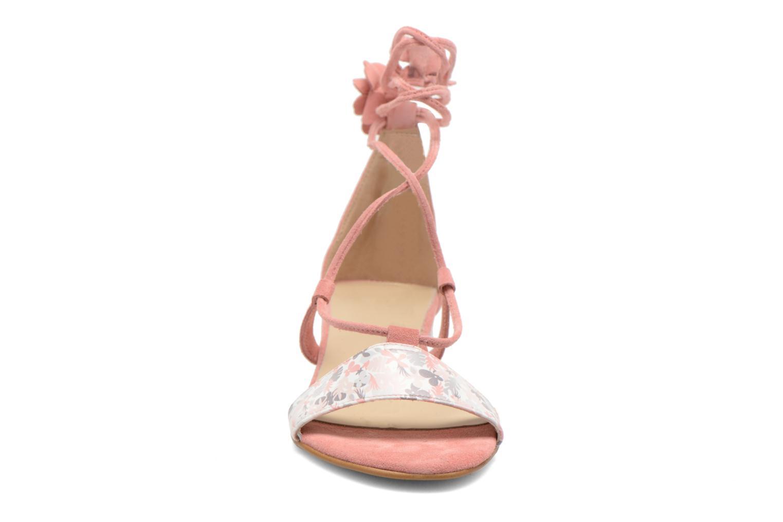Sandalen Georgia Rose Althéa rosa schuhe getragen