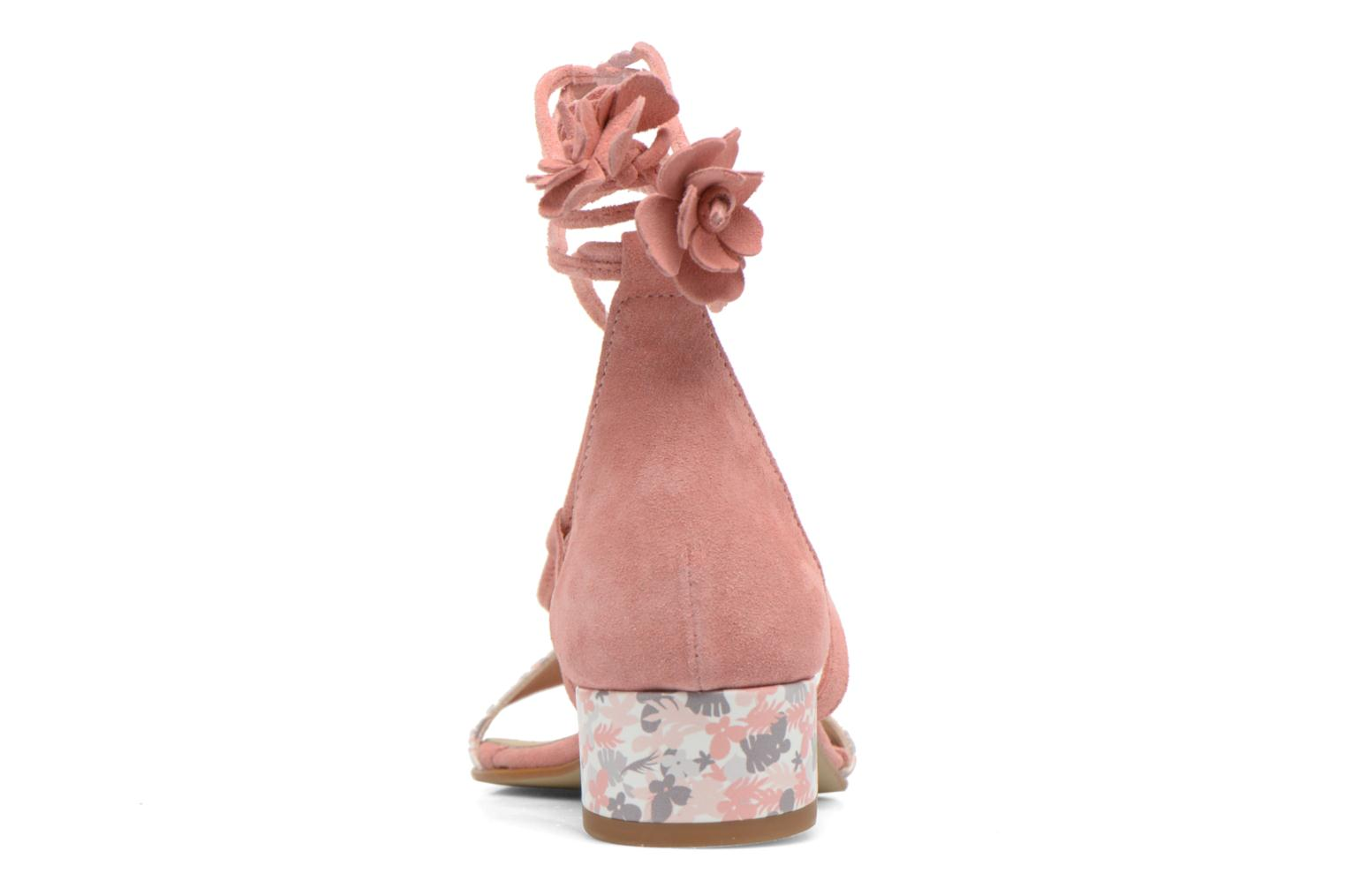 Sandals Georgia Rose Althéa Pink view from the right