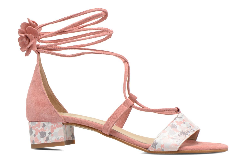 Sandalen Georgia Rose Althéa rosa ansicht von hinten