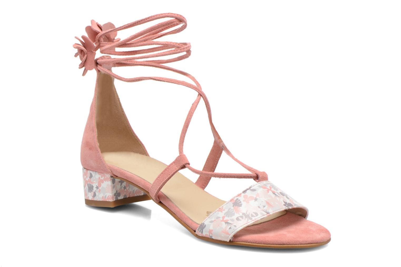 Sandalen Georgia Rose Althéa rosa detaillierte ansicht/modell