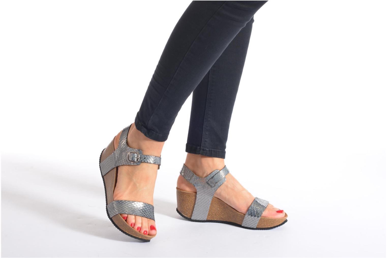 Sandali e scarpe aperte Rondinaud Bionne Argento immagine dal basso