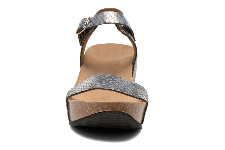 Sandali e scarpe aperte Rondinaud Bionne Argento modello indossato