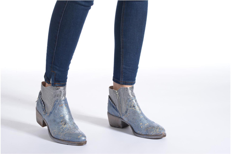 Bottines et boots Khrio Pasto Argent vue bas / vue portée sac