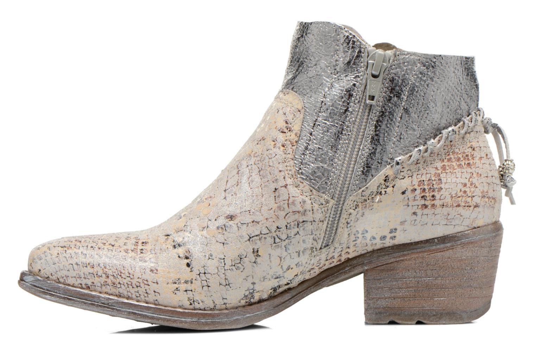 Bottines et boots Khrio Pasto Argent vue face