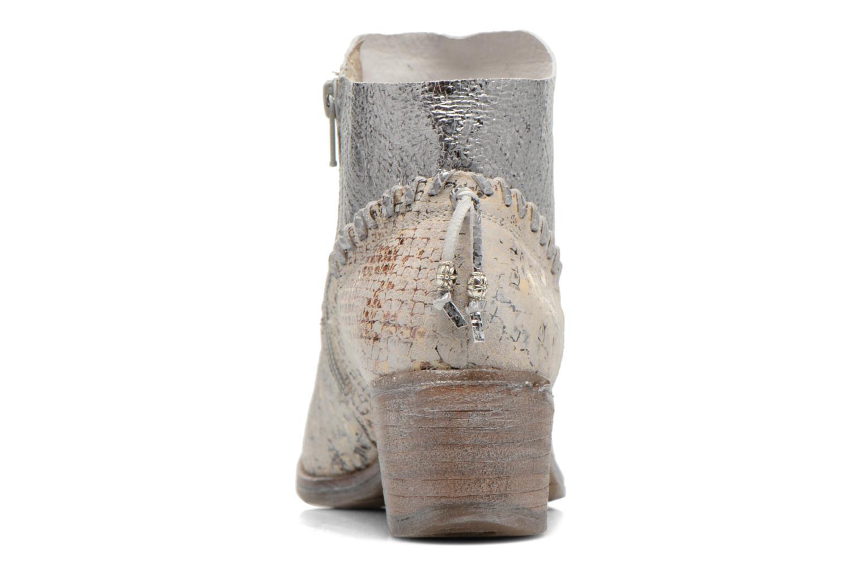 Bottines et boots Khrio Pasto Argent vue droite