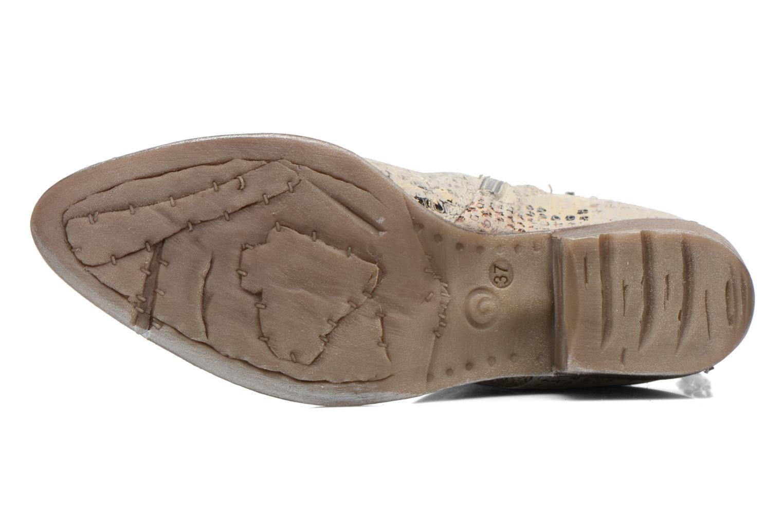 Bottines et boots Khrio Pasto Argent vue haut