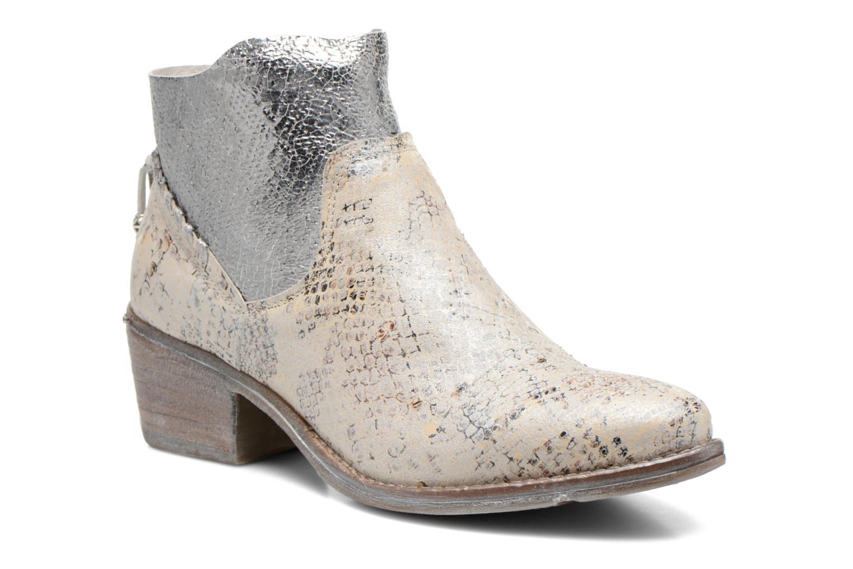 Bottines et boots Khrio Pasto Argent vue détail/paire