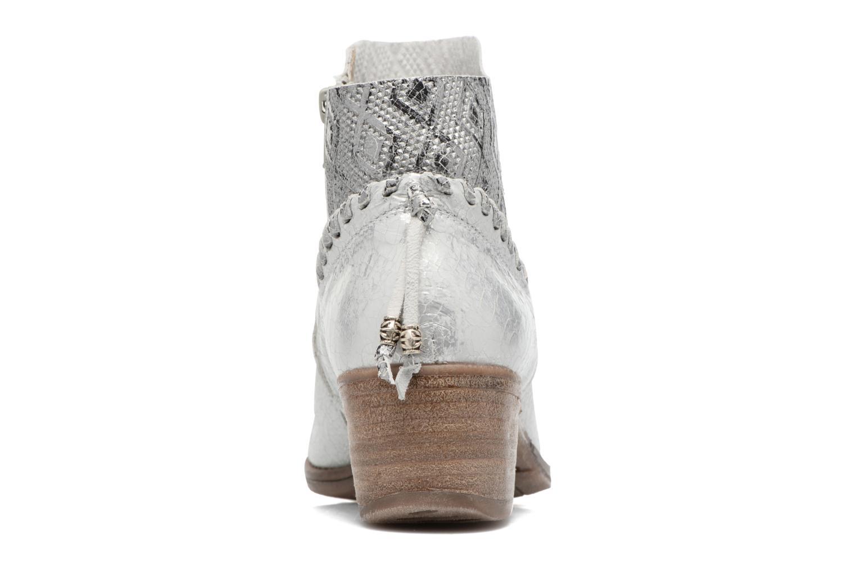 Bottines et boots Khrio Pasto Beige vue droite