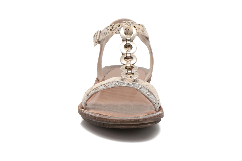 Sandales et nu-pieds Khrio Cartagena Gris vue portées chaussures