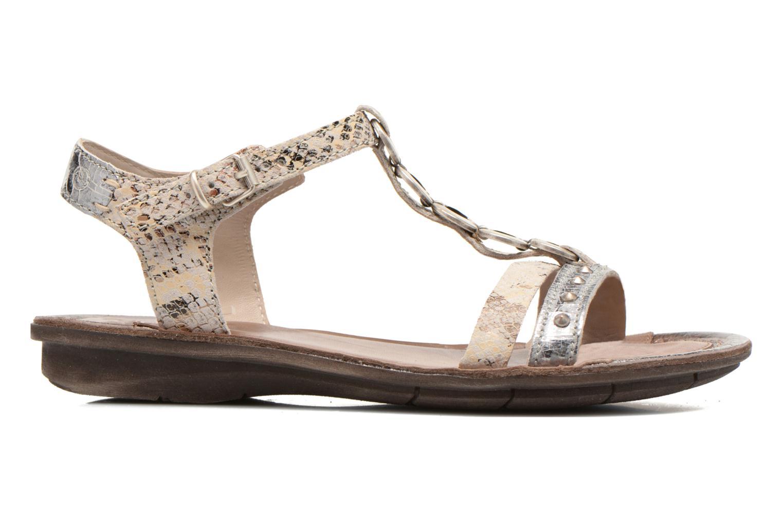 Sandales et nu-pieds Khrio Cartagena Gris vue derrière