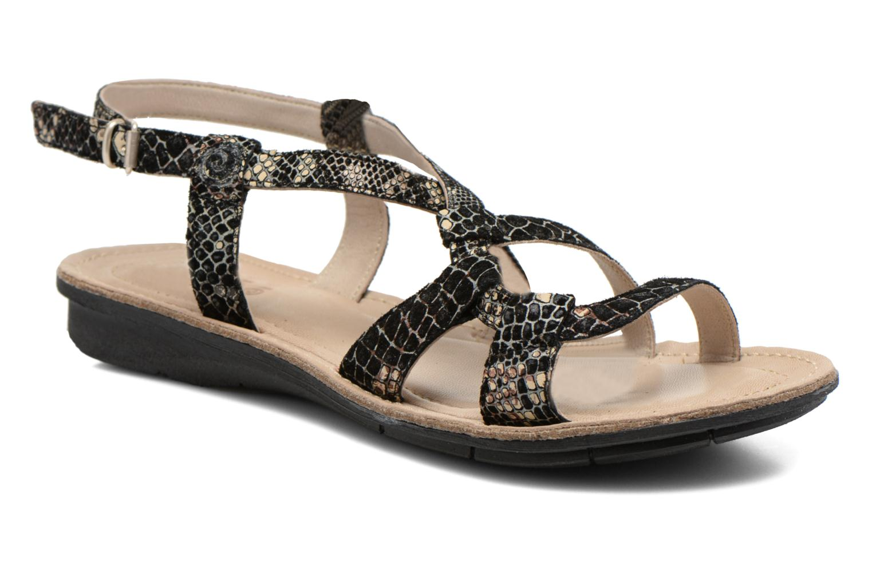 Zapatos de hombres y mujeres de moda casual Khrio Popayan (Negro) - Sandalias en Más cómodo