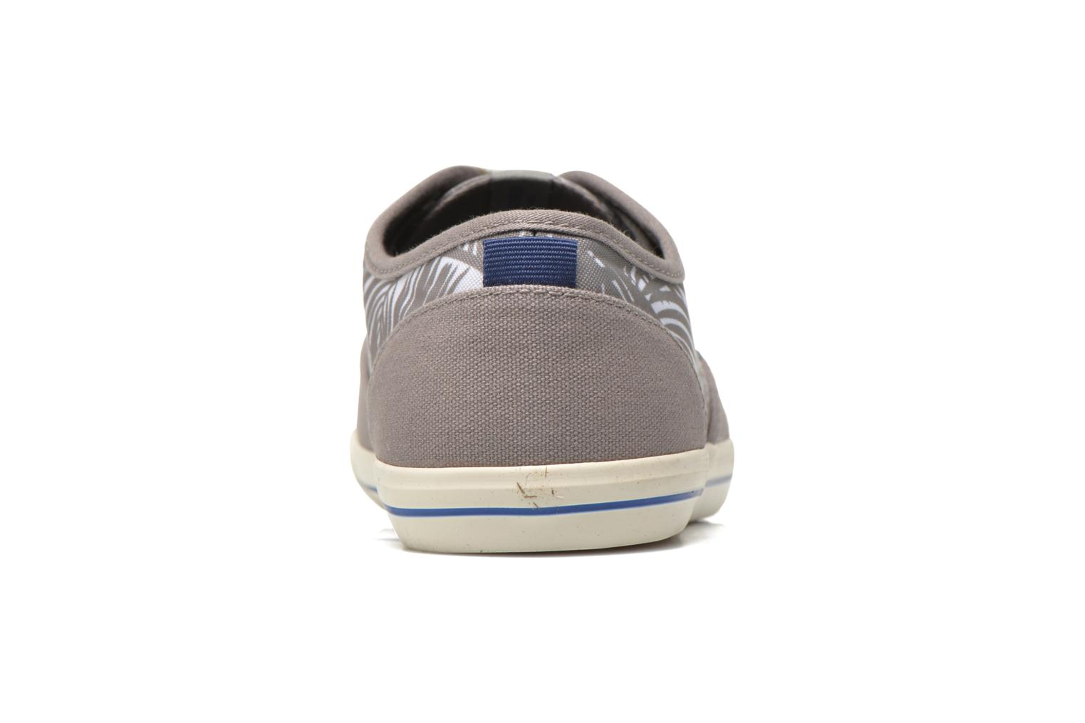 Baskets Jack & Jones JJSpider Canvas Palm Print Gris vue droite