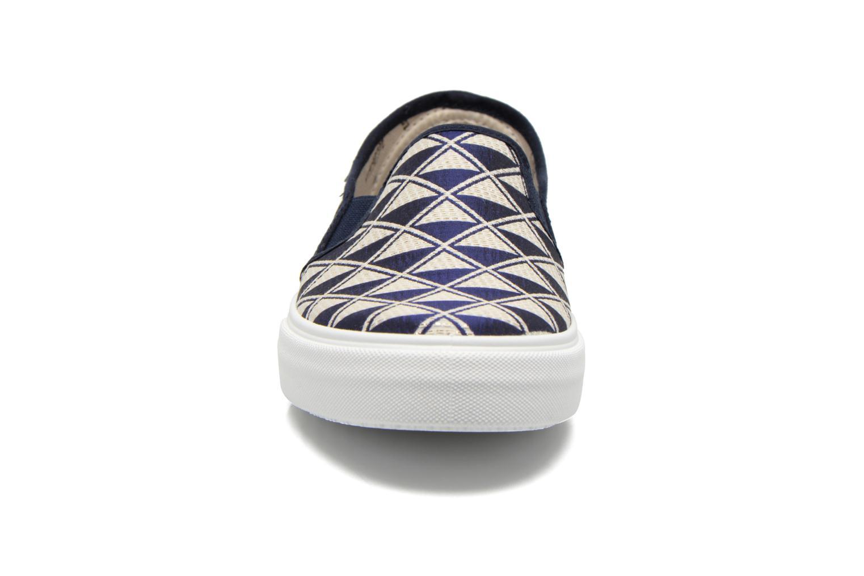 Baskets Victoria Slip On Geometrico Noir vue portées chaussures