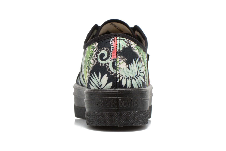 Sneakers Victoria Basket Flores Y Corazones P Multicolore immagine destra