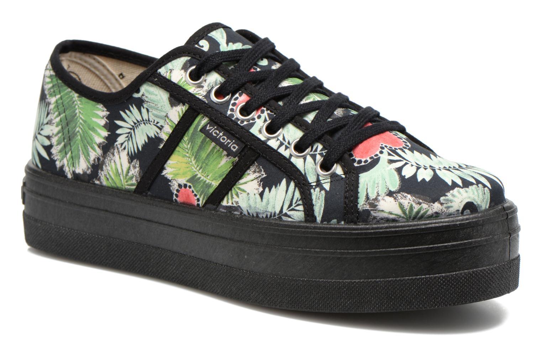 Sneakers Victoria Basket Flores Y Corazones P Multicolore vedi dettaglio/paio