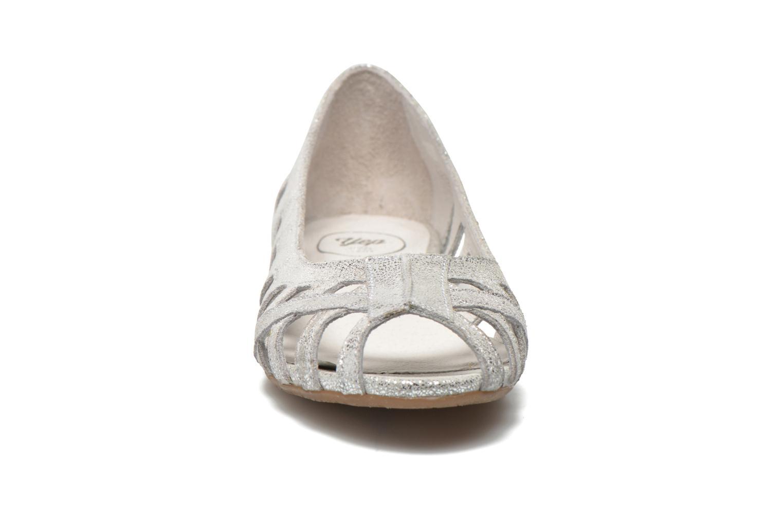 Ballerines Yep Diane Argent vue portées chaussures
