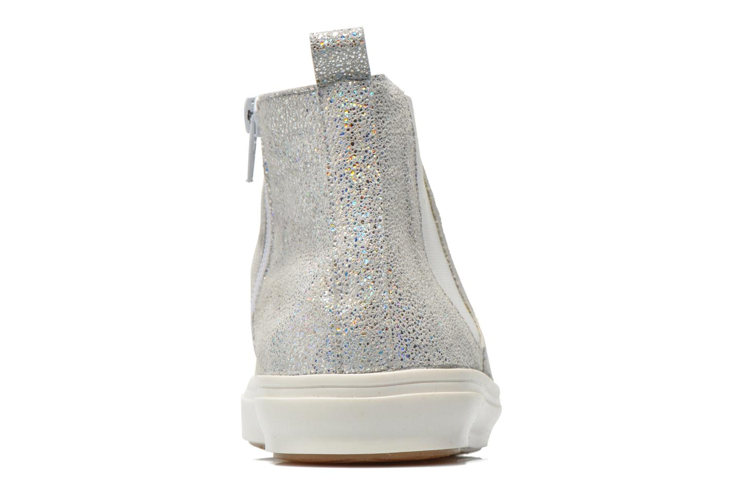 Ankle boots Yep Clarita Silver view from the right