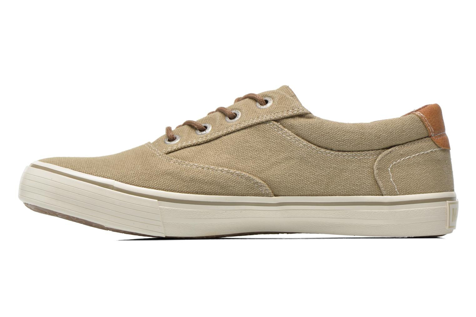 Sneakers Mustang shoes Shown Beige se forfra