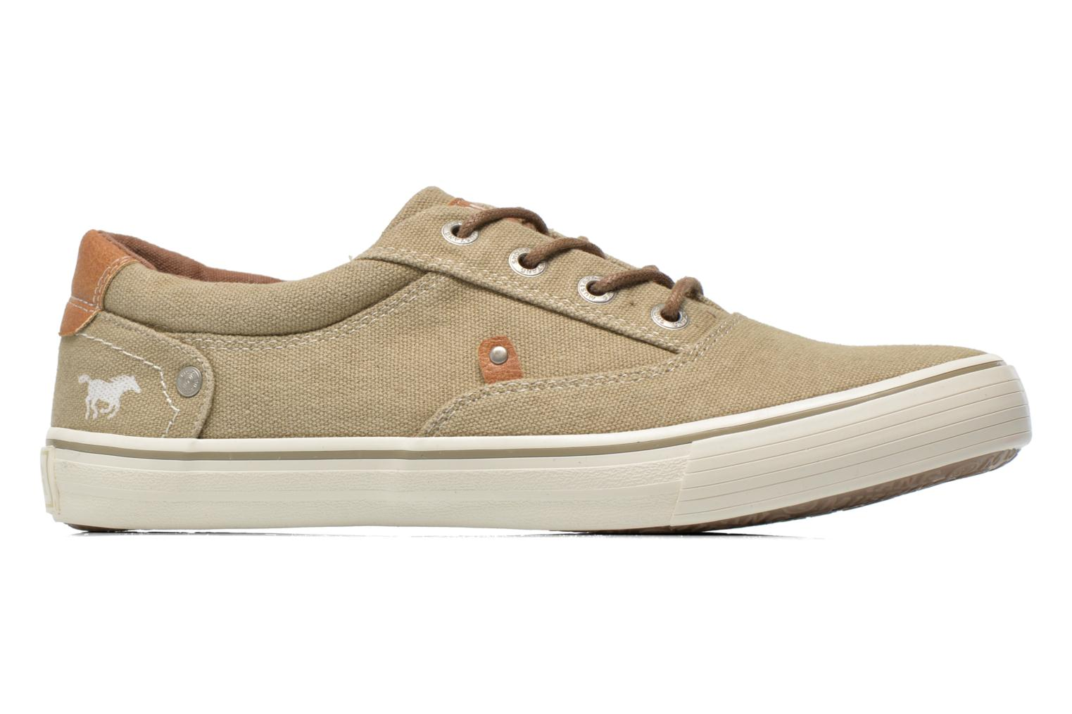 Sneakers Mustang shoes Shown Beige se bagfra