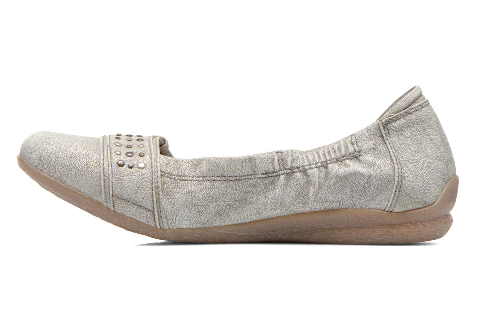 Ballerines Mustang shoes Lisle Gris vue face