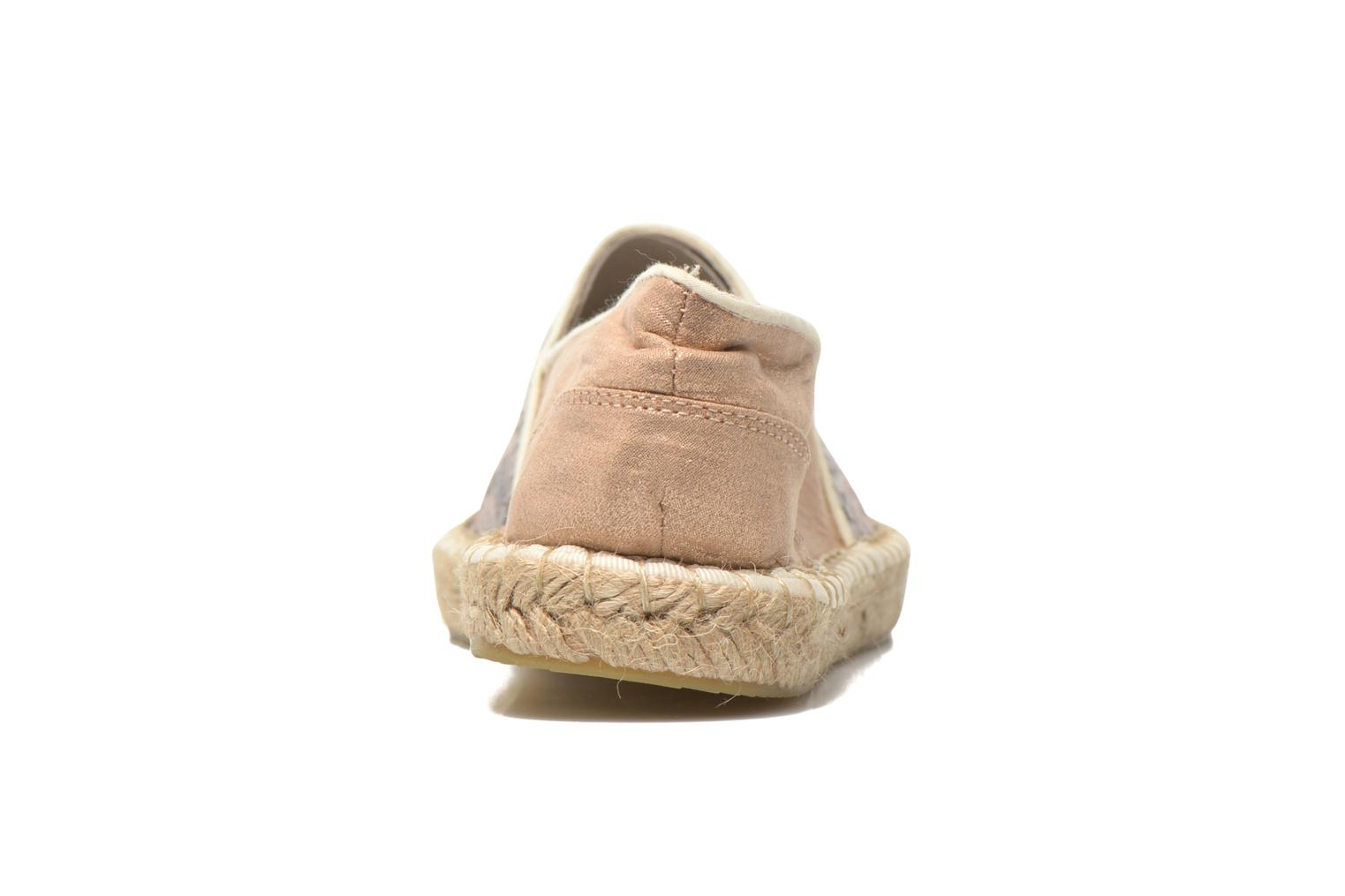 Espadrilles Mustang shoes Brauw Brown view from the right