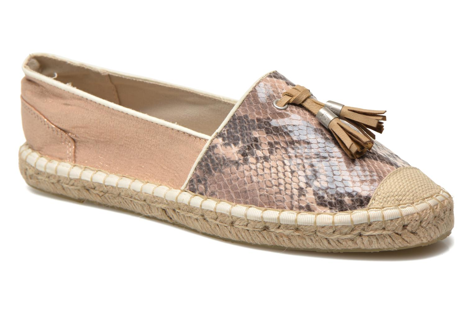 Marques Chaussure femme Mustang shoes femme Brauw Marron-rose