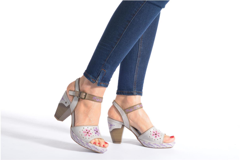 Sandales et nu-pieds Mustang shoes Bilte Multicolore vue bas / vue portée sac
