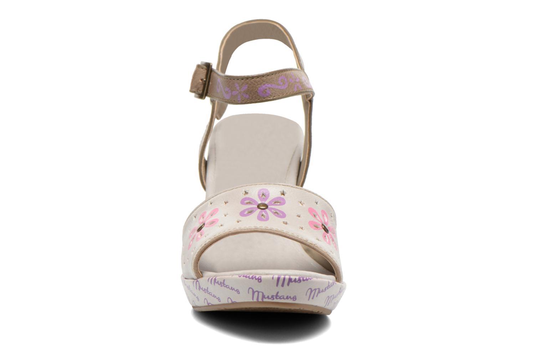 Sandales et nu-pieds Mustang shoes Bilte Multicolore vue portées chaussures