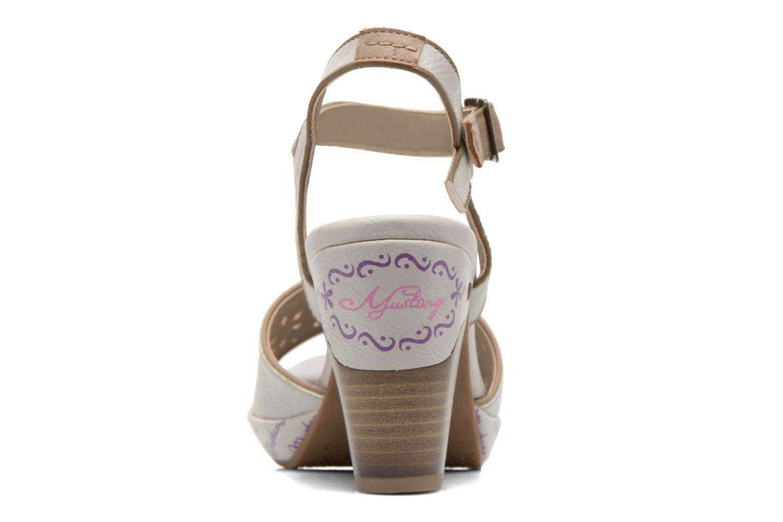 Sandali e scarpe aperte Mustang shoes Bilte Multicolore immagine destra